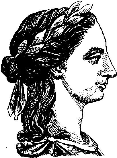Profile of Anna Laetitia Barbauld, circa 1775