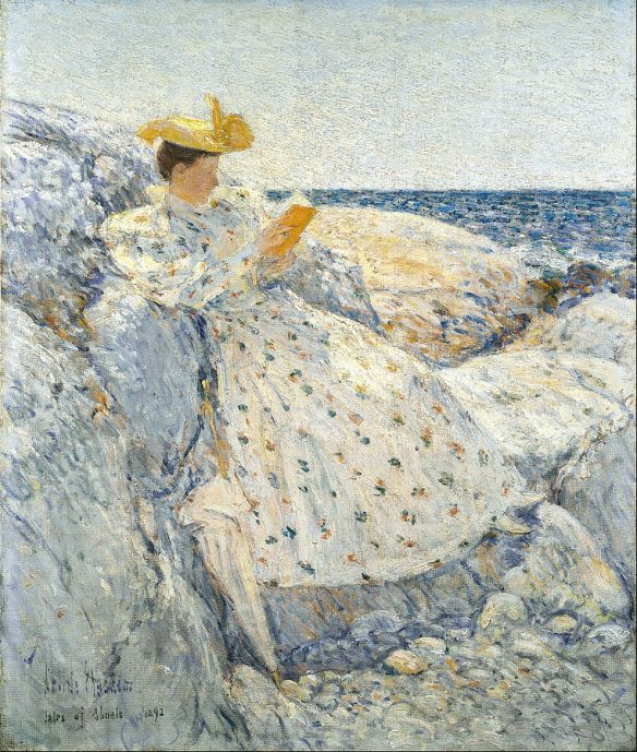 Summer Sunlight (Isles of Shoals) by Childe Hassam, 1892