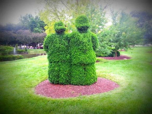 Topiary Twosome