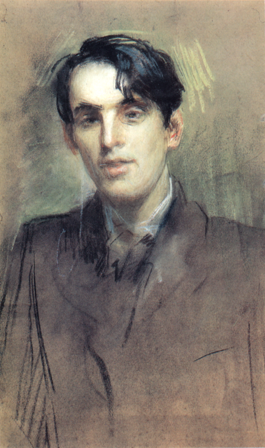 William Butler Yeats by Sarah Purser, June 1898