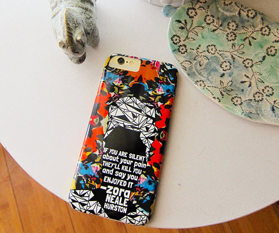 Zora Neale Hurston phone case by NOxLA. $36.00.