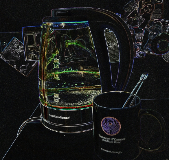 Artsy Electric Kettle