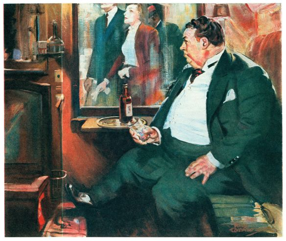 Nero Wolfe in Too Many Cooks, March 1938