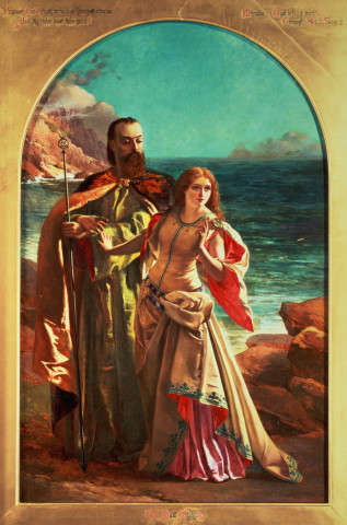 Prospero and Miranda by William Maw Egley, circa 1850
