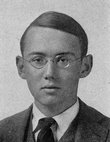 Stephen Vincent Benét, in the Yale College Yearbook (1919).