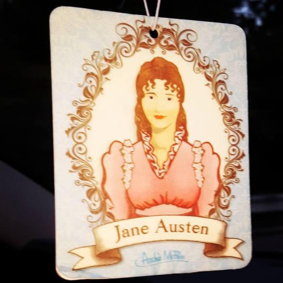 Jane Austen Air Freshener