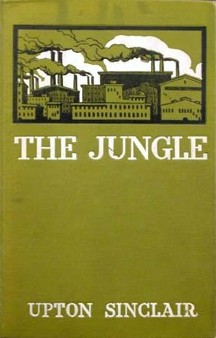 Cover of The Jungle by Upton Sinclair, 1906