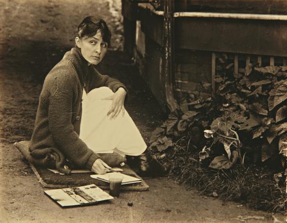 Georgia O'Keeffe by Alfred Stieglitz, 1918