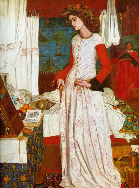 La Belle Iseult by William Morris. 1858.