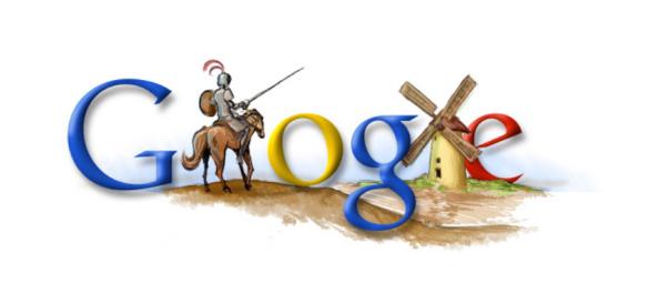Miguel de Cervantes Google Doodle