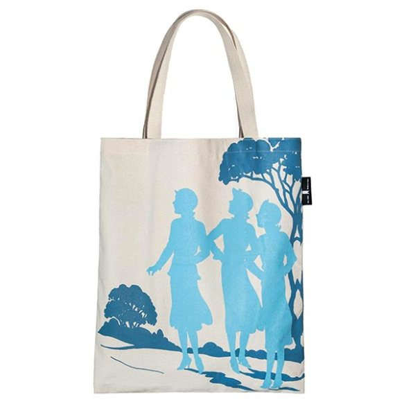 Nancy Drew Tote Bag at Bas Bleu