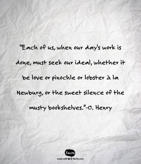 O. Henry Quote