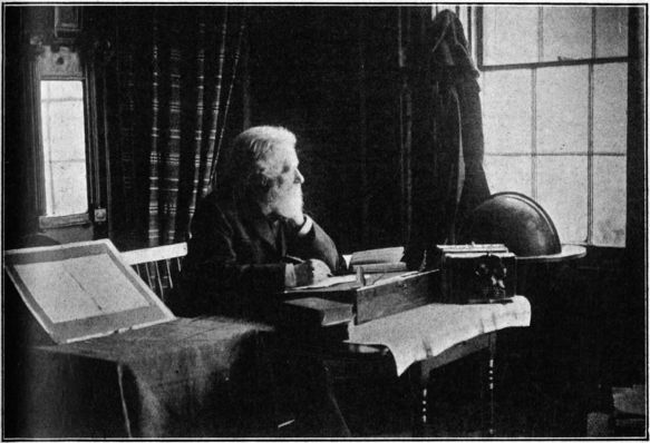 Philip James Bailey in his study