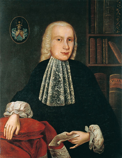 Portrait of a Nobleman, 18th century. Unknown painter.