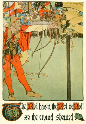 Robin Hood by Charlotte Harding, circa 1903