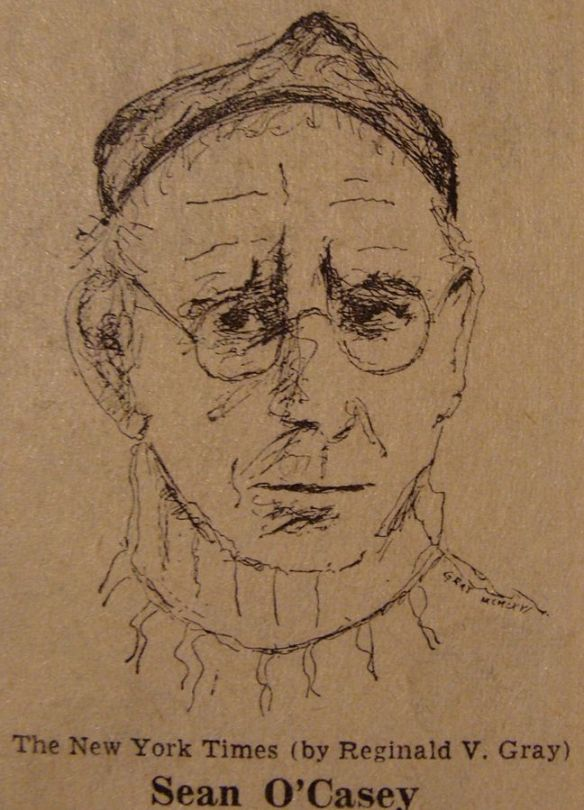 Study of Sean O'Casey by Reginald V. Gray