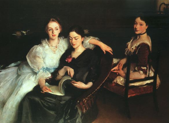 The Misses Vickers by John Singer Sargent, 1884