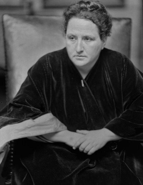 Gertrude Stein by Alvin Langdon Coburn, 1913
