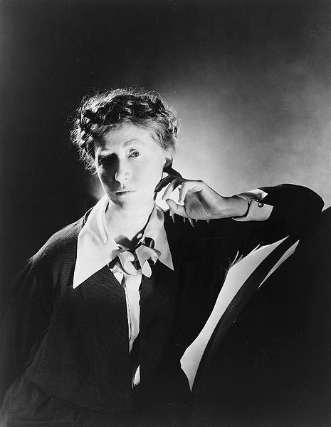 Marianne Moore by George Platt Lynes, 1 February 1935.
