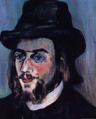Portrait of Erik Satie by Suzanne Valadon, 1893