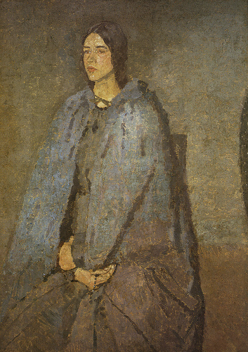 The Pilgrim by Gwen John, circa 1915