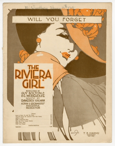The Riviera Girl, 1917.