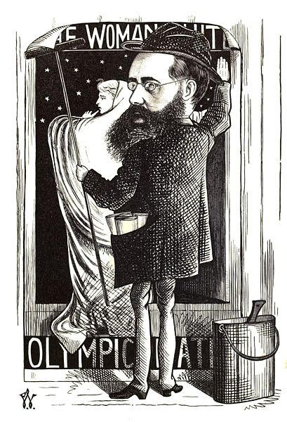 Wilkie Collins by Frederick Waddy, 1872