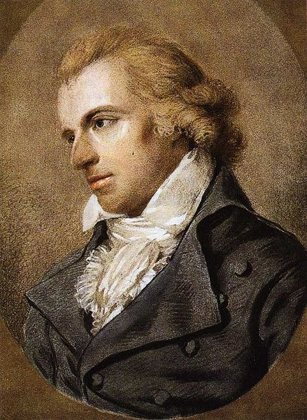 Friedrich Schiller by Ludovike Simanowiz, 1793 or 1794