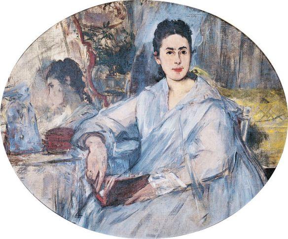 Marguerite de Conflans by E. Manet, circa 1875