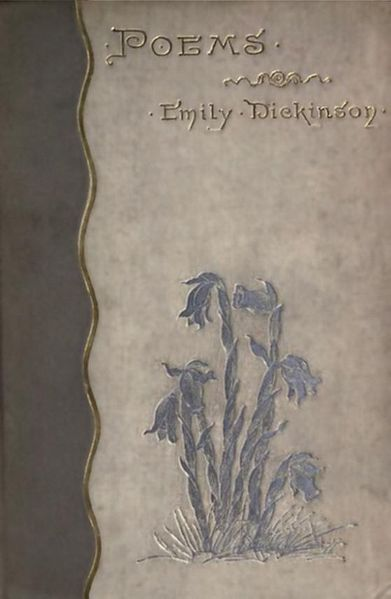 Book cover of Poems by Emily Dickinson, 1890