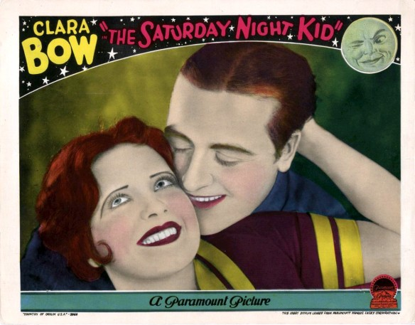The Saturday Night Kid with Clara Bow and James Hall, 1929