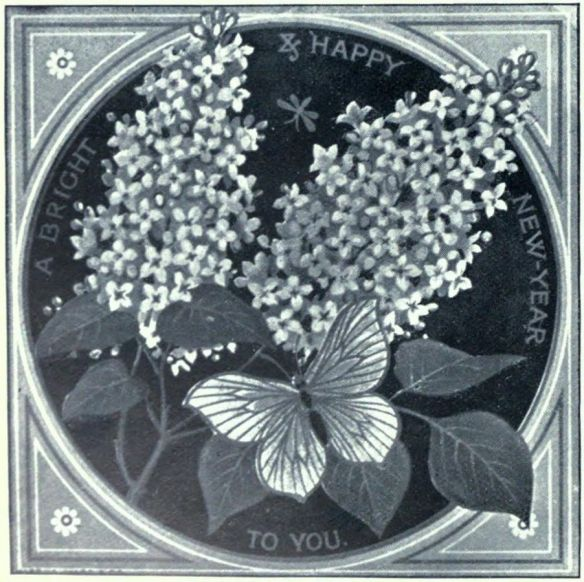 Thomas Crane Greeting Card, circa 1880s