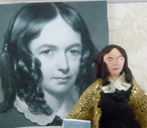 Elizabeth Barrett Browning Doll by Uneek Doll Designs. $49.00