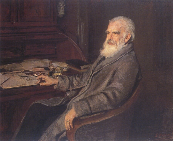 Portrait of Otto Gildemeister by Gottfried Joseph Hofer, 1898