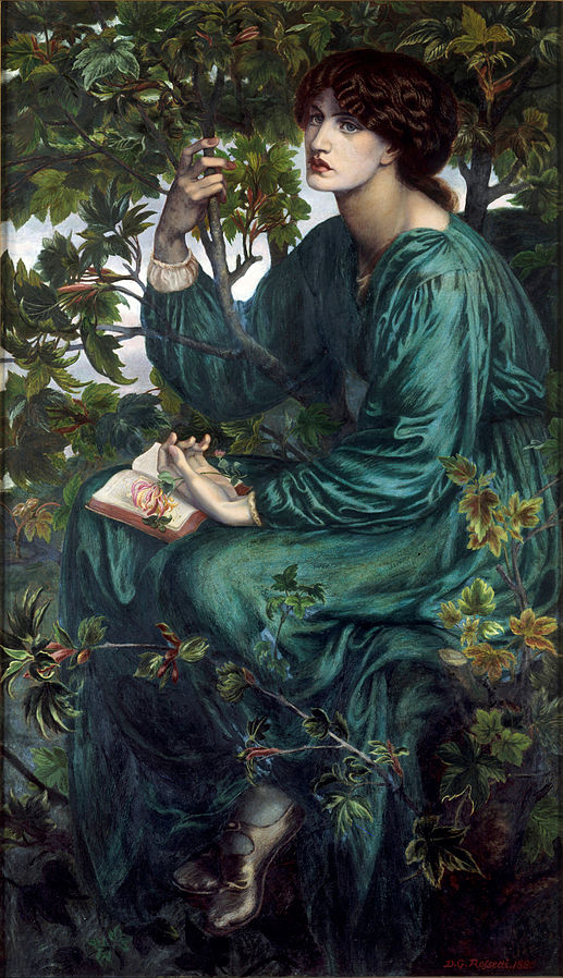 The Day Dream by Dante Gabriel Rossetti, 1880