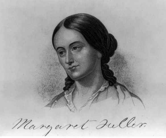 Engraving of Margaret Fuller