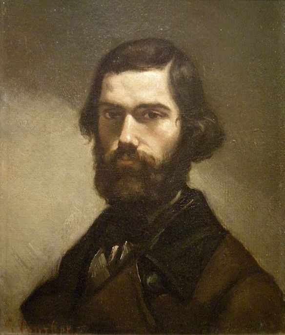 Portrait of Jules Vallès by Gustave Courbet, 19th century