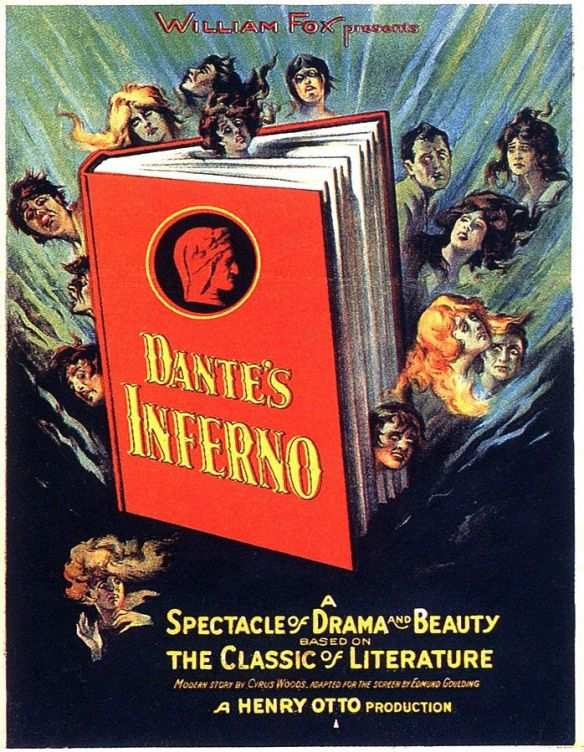 Poster for Dante's Inferno (1924)