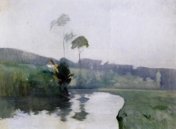 Springtime  by John Henry Twachtman, circa 1884