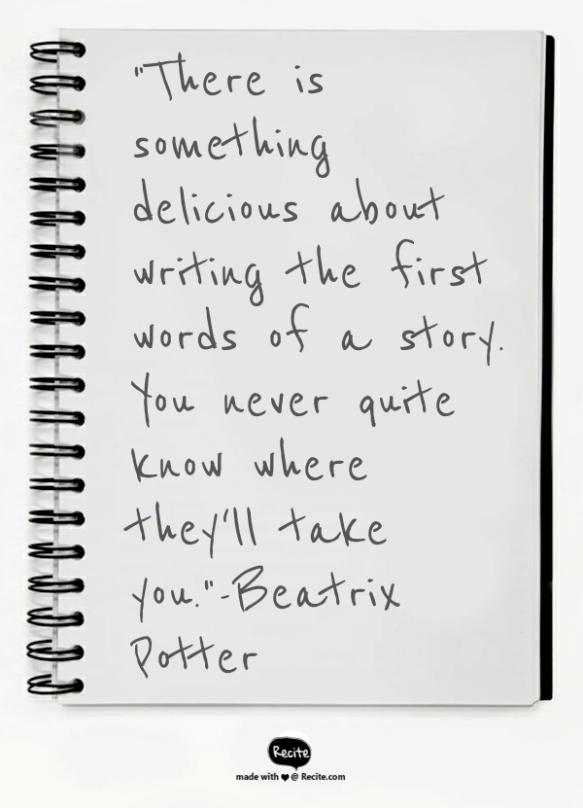 Beatrix Potter quote