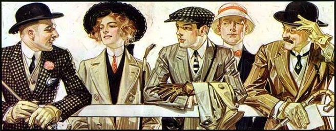 Arrow Shirt Collar Ad by Joseph Christian Leyendecker, 1907