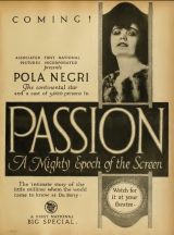 Pola Negri in Passion (Madame Du Barry), 1919