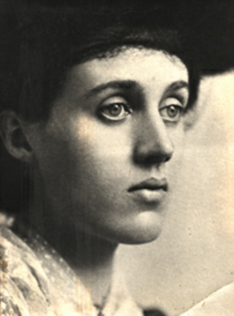 Photo of Vanessa Bell by GC Beresford, 1902