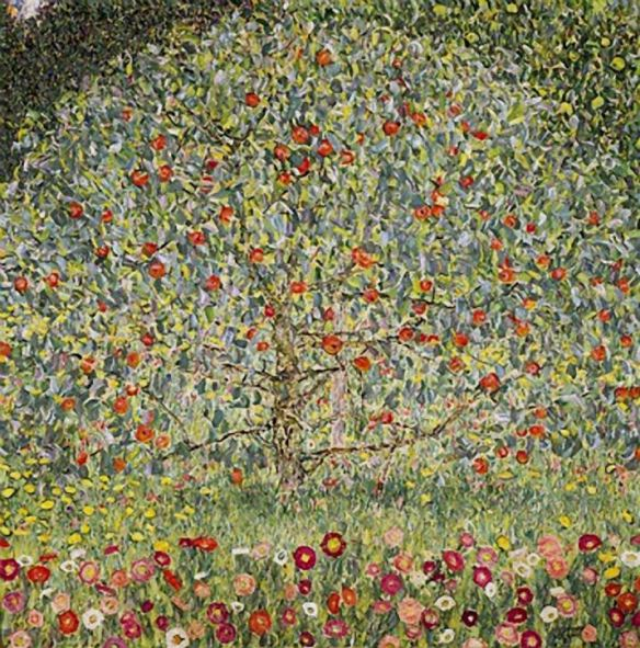Apple Tree I by Gustav Klimt, 1912