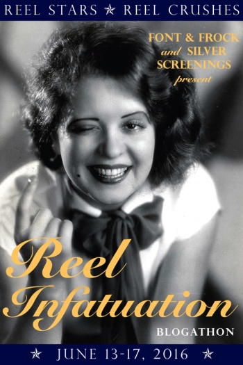 Reel Infatuation Banner-Clara Bow
