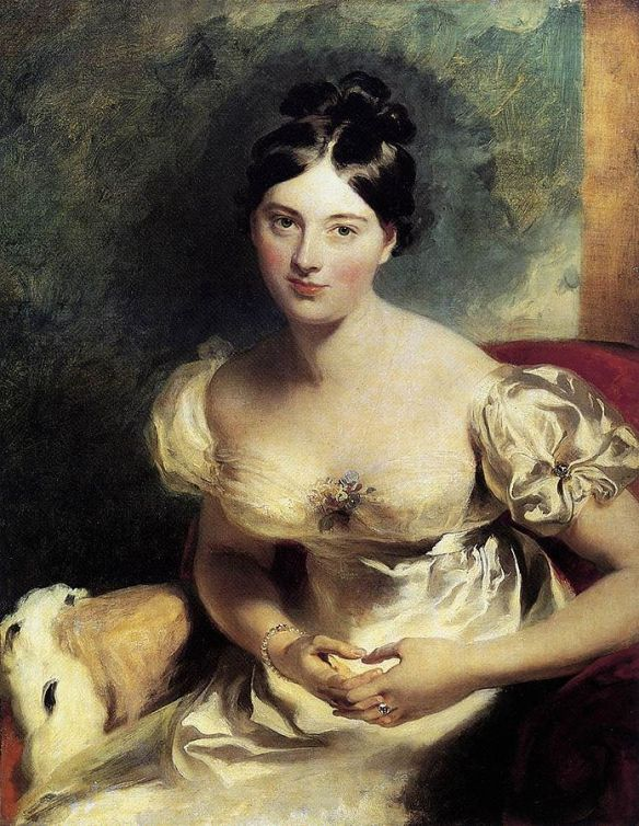 Marguerite, Countess of Blessington by Thomas Lawrence, 1822