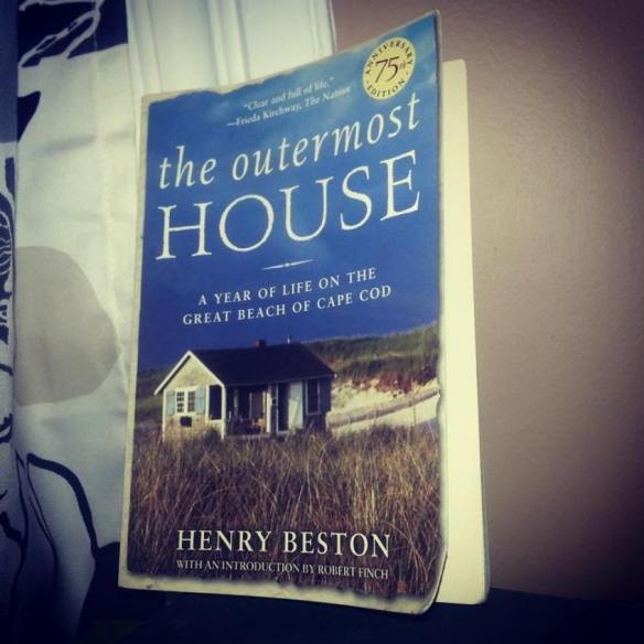 My copy of The Outermost House