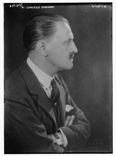 W. Somerset Maugham. Bain Collection.