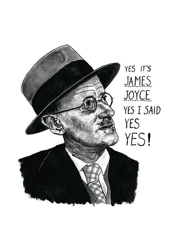 James Joyce Ulysses Print by Standard Designs