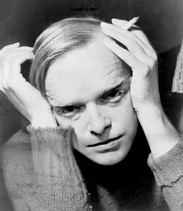 Truman Capote photographed by Roger Higgins, 1959.